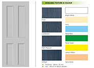 Four Panel FRP Door